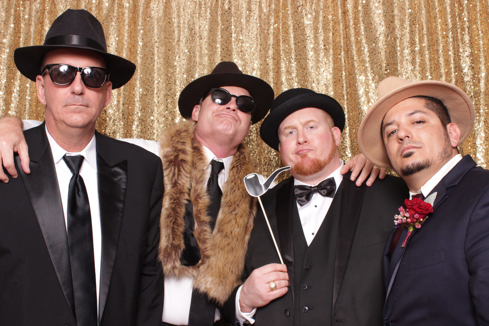 Great Gatsby Photo Booth - South Texas and RGV Photo Booth