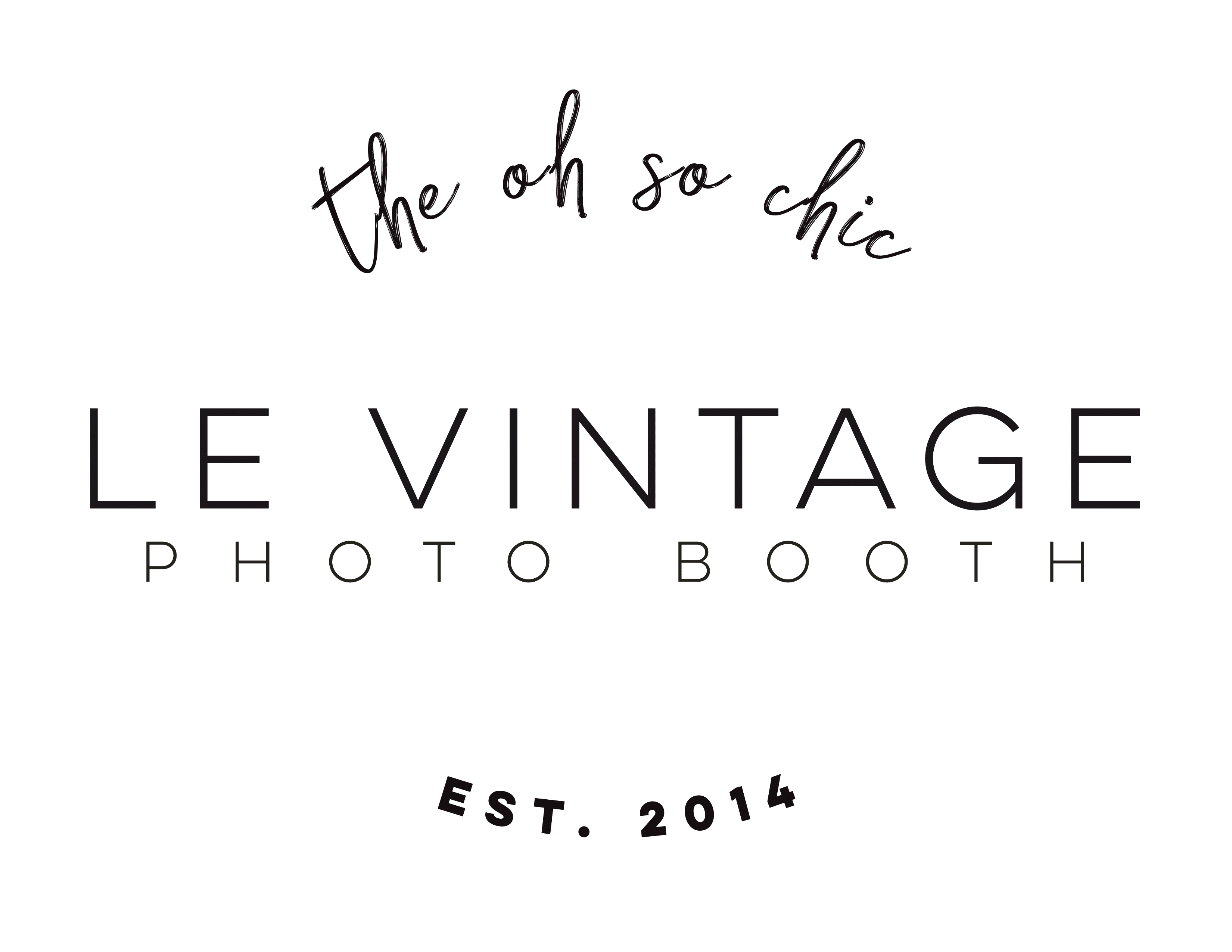 Le Vintage Photo Booth - South Texas and RGV Photo Booth